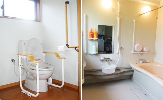 グループホーム「あんど」のトイレ・浴室